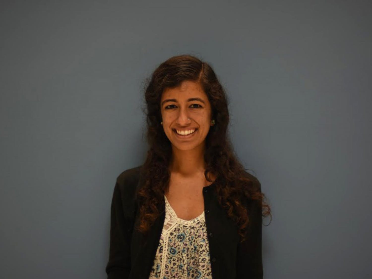 Medical Student, Neha Verma, who started the writing program for survivors of domestic abuse.