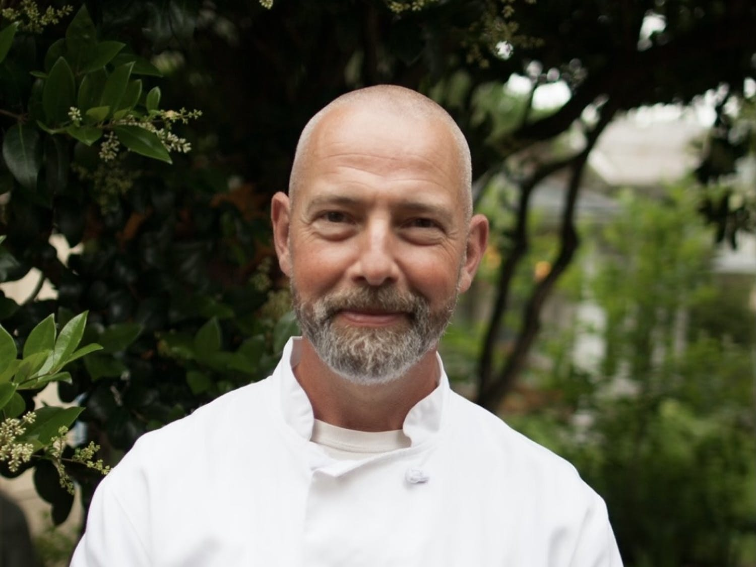 Baptist Knaven, head chef of Mosaic Cafe and Bistro, poses for a portrait. Photo courtesy of Brian Cansler.
