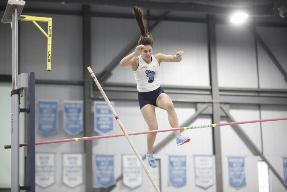 Anna Eaton shines for UNC track and field in 2019 season opener