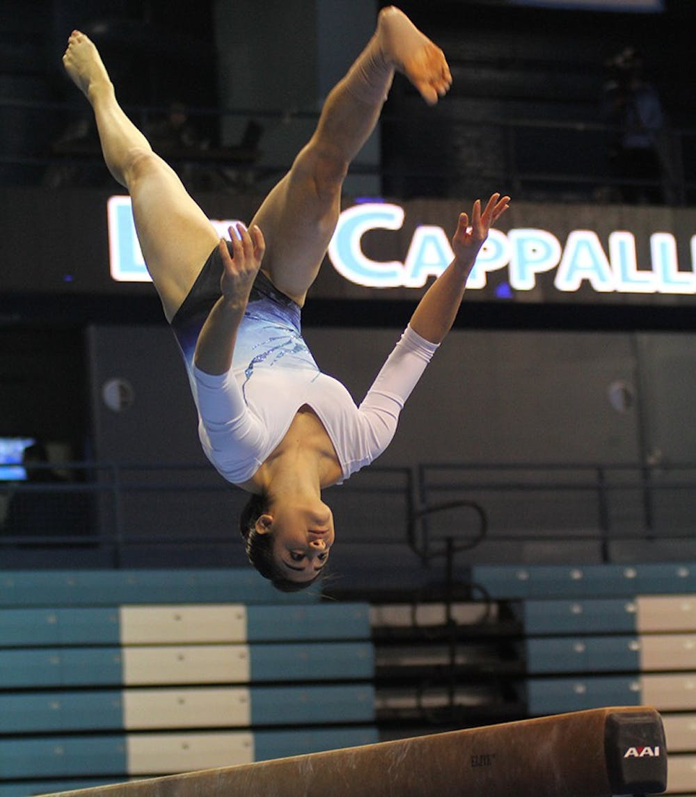Focused effort fuels UNC gymnastics past Maryland