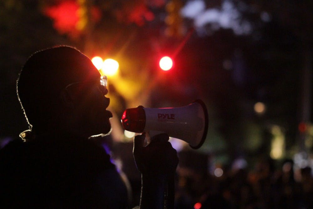 Silent Sam may be gone, but it continues to weigh on the minds of students of color