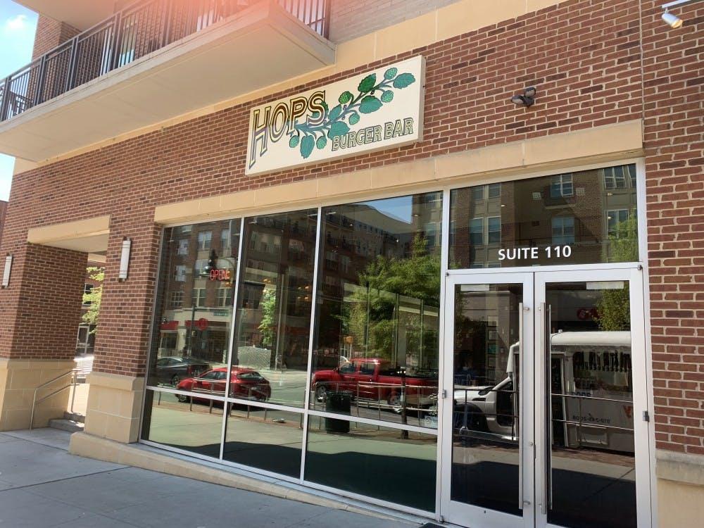 Hops Burger Bar on Franklin Street is closed for good