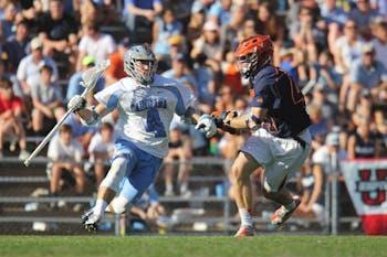 UNC men's lacrosse defeated Virginia Saturday 11-10 at Fetzer Field.