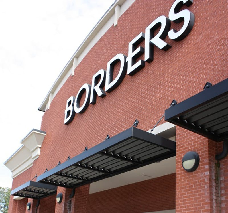 The Borders chain has gone bankrupt and as a consequence, their bookstore on Chapel Hill boulevard is to close.