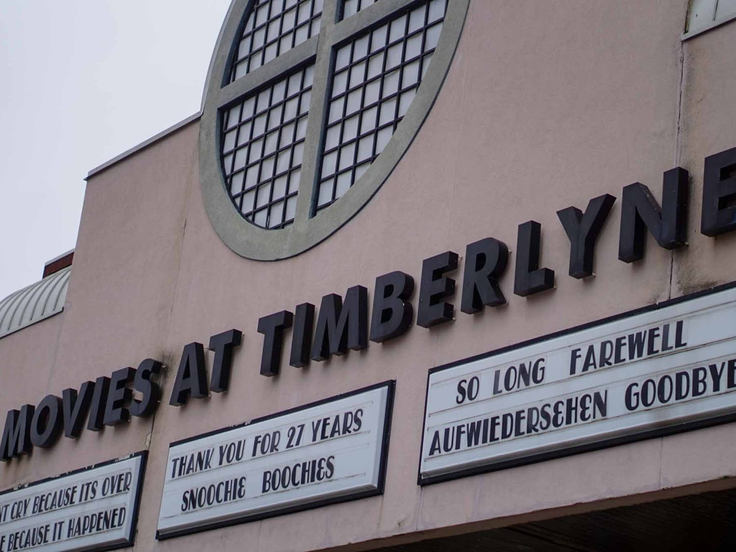 The Regal Timberlyne Theater on Oct. 12, 2020, which Cary-based developers plan on turning into office space.