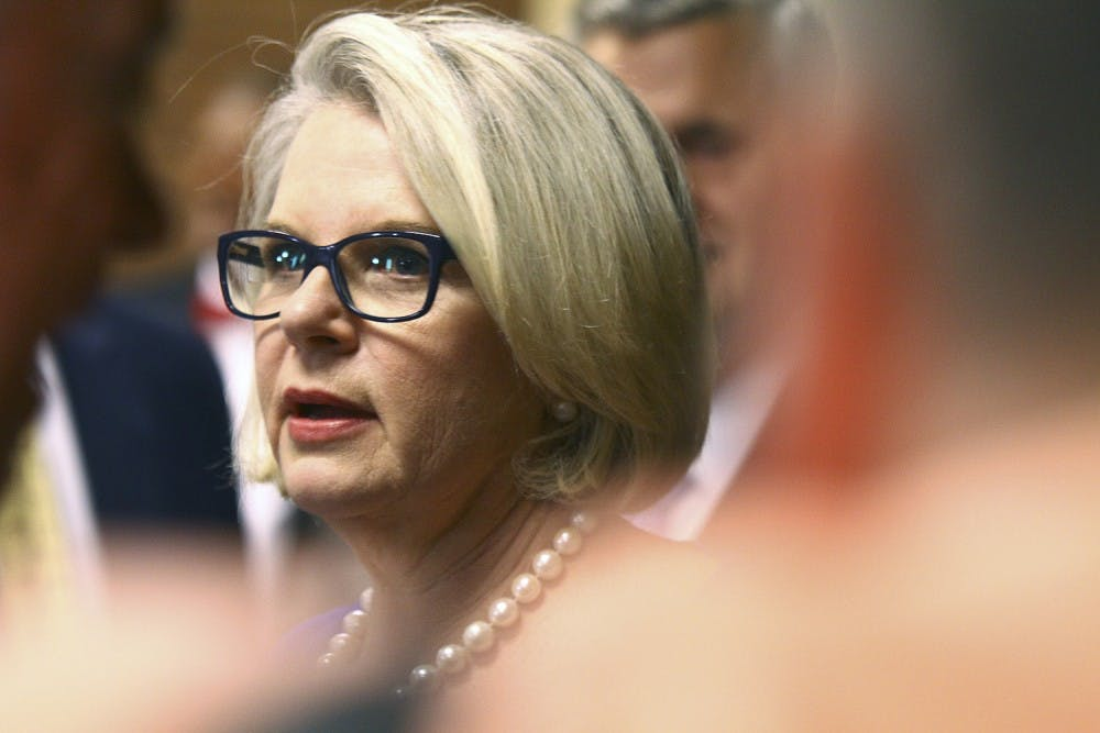 UNC-system President Margaret Spellings to leave role, according to News & Observer