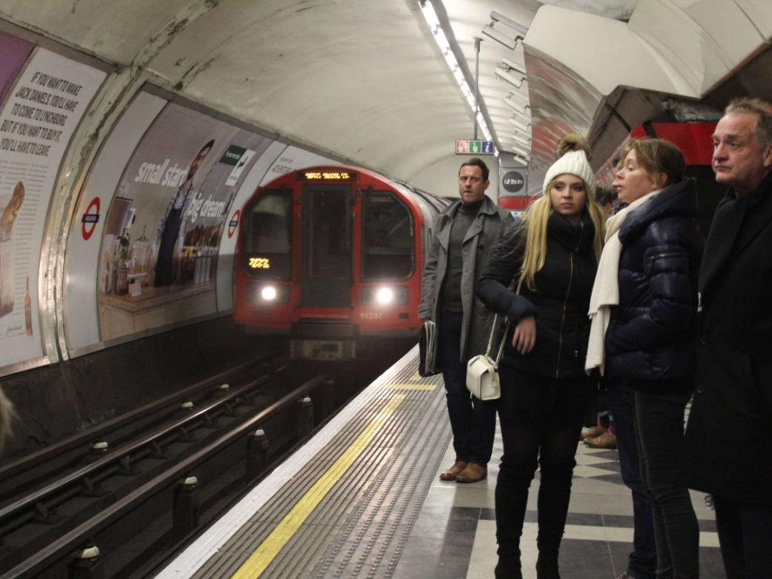The Tube is a wild world out there.Photo courtesy of Meggie Cruser