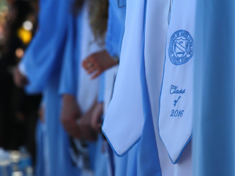 The class of 2016 graduated at Kenan stadium Sunday.