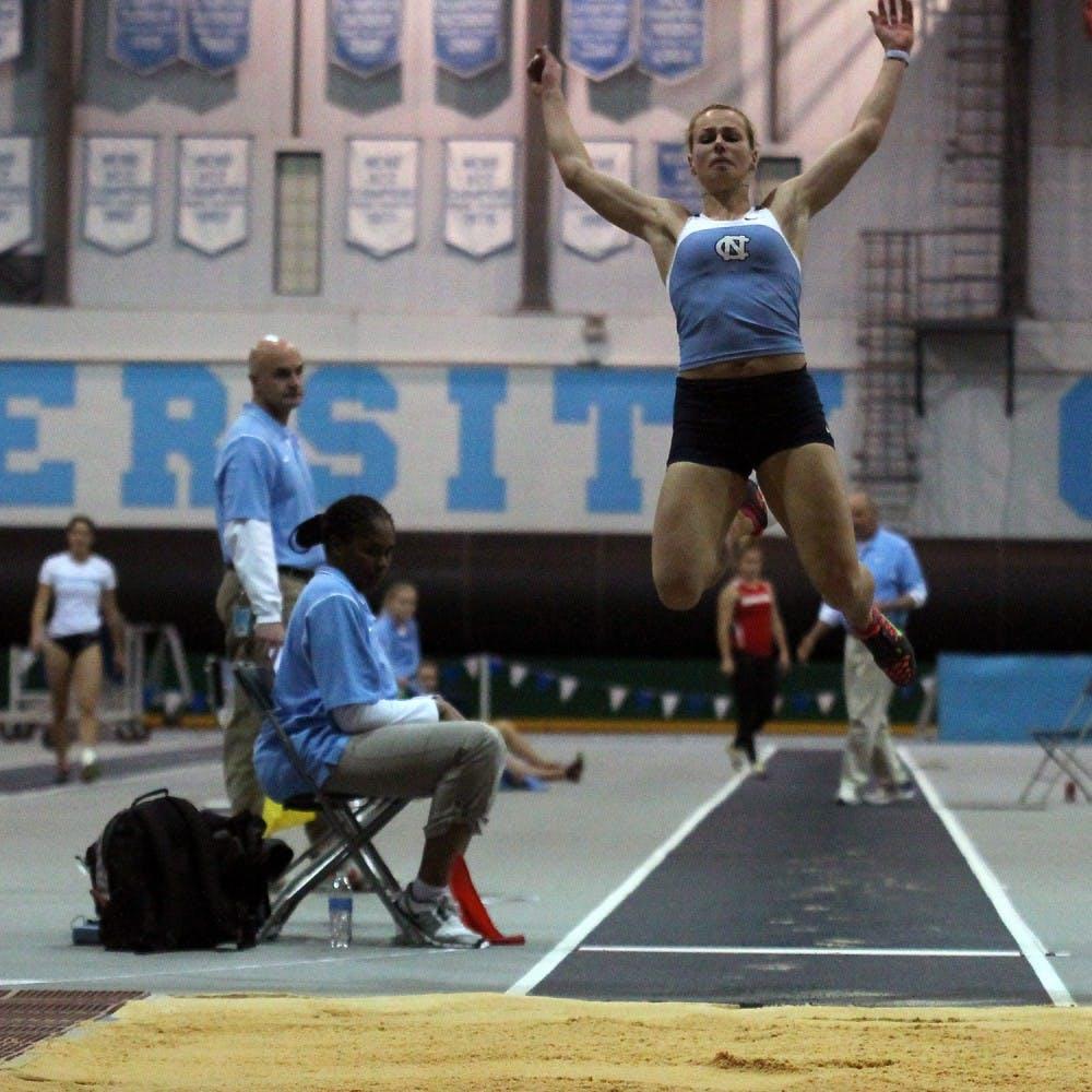 Xenia Rahn breaks pentathlon record for UNC track