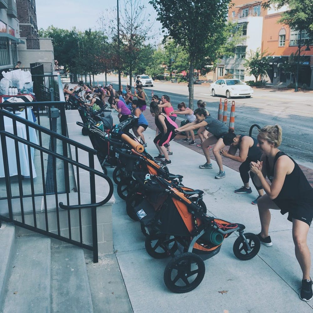 It's not a walk in the park for Fit4Moms