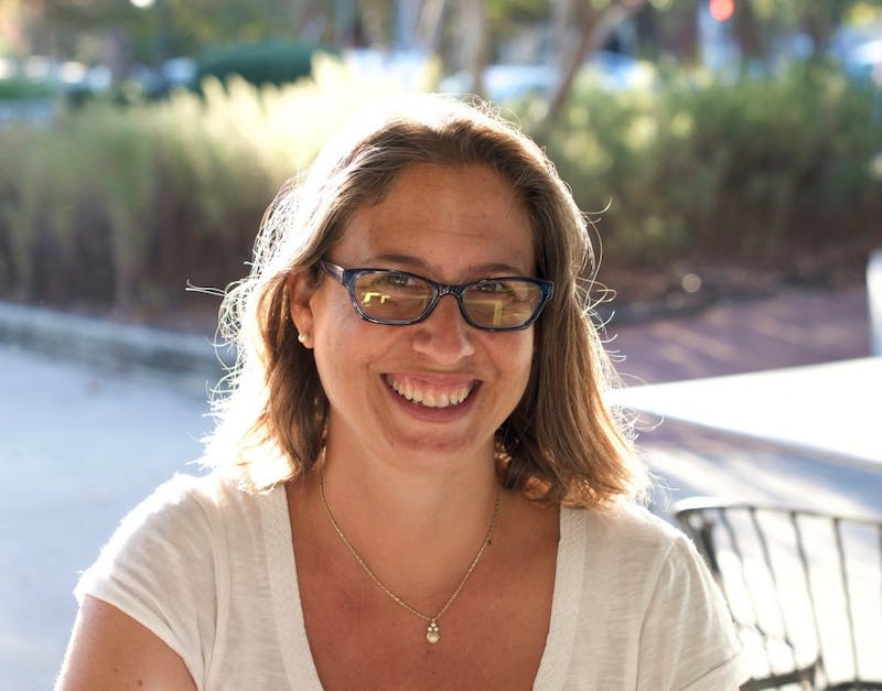 Laura Halperin, a professor with the Department of English and Comparative Literature, has earned a Chapman Family Teaching Award.Photo courtesy of Halperin.