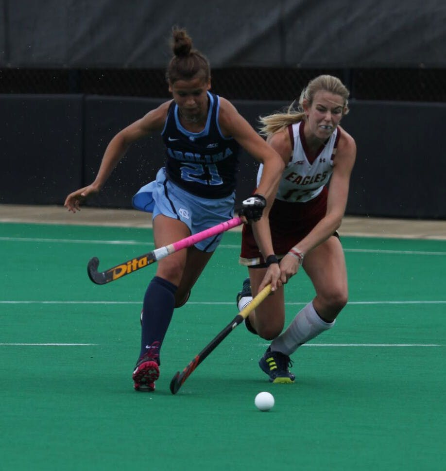 Smolenaars makes the difference for No. 7 UNC with first career goal