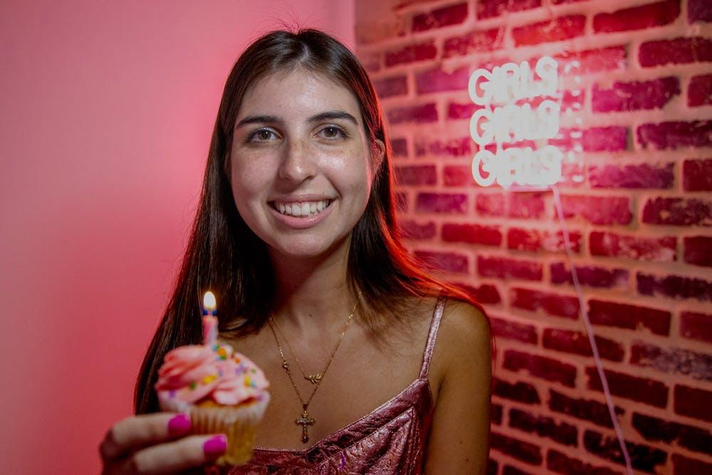 Photo Editor Helen McGinnis celebrates her 21st birthday for this week's office DJ.