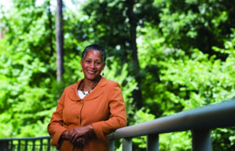 Gloria Thomas, Director of the Carolina Women's Center.  Photographed July 29, 2016 at the Sonja Hanyes Stone Center on the campus of the University of North Carolina at Chapel Hill.  