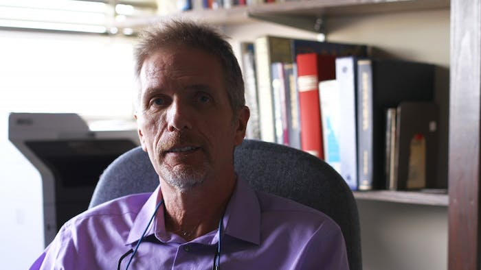 Professor Jay Smith taught a class about athletes' rights, but it was later cancelled.
