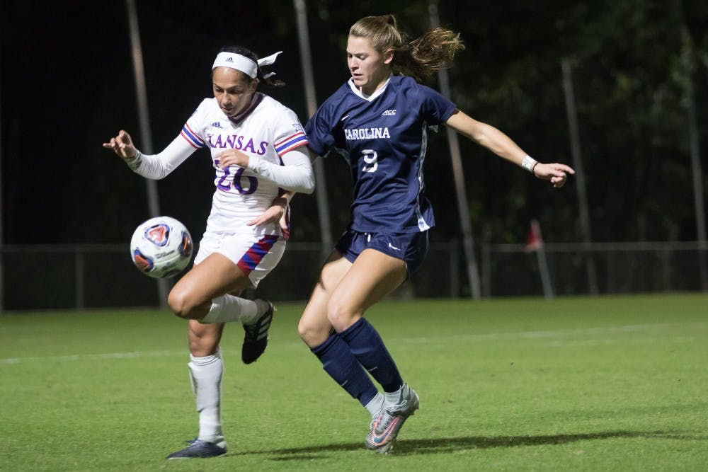 Senior Ashley and first-year Dorwart power UNC women's soccer to NCAA Tournament win