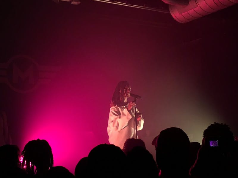 Kelela performed to a sold-out crowd at Motorco on Friday.