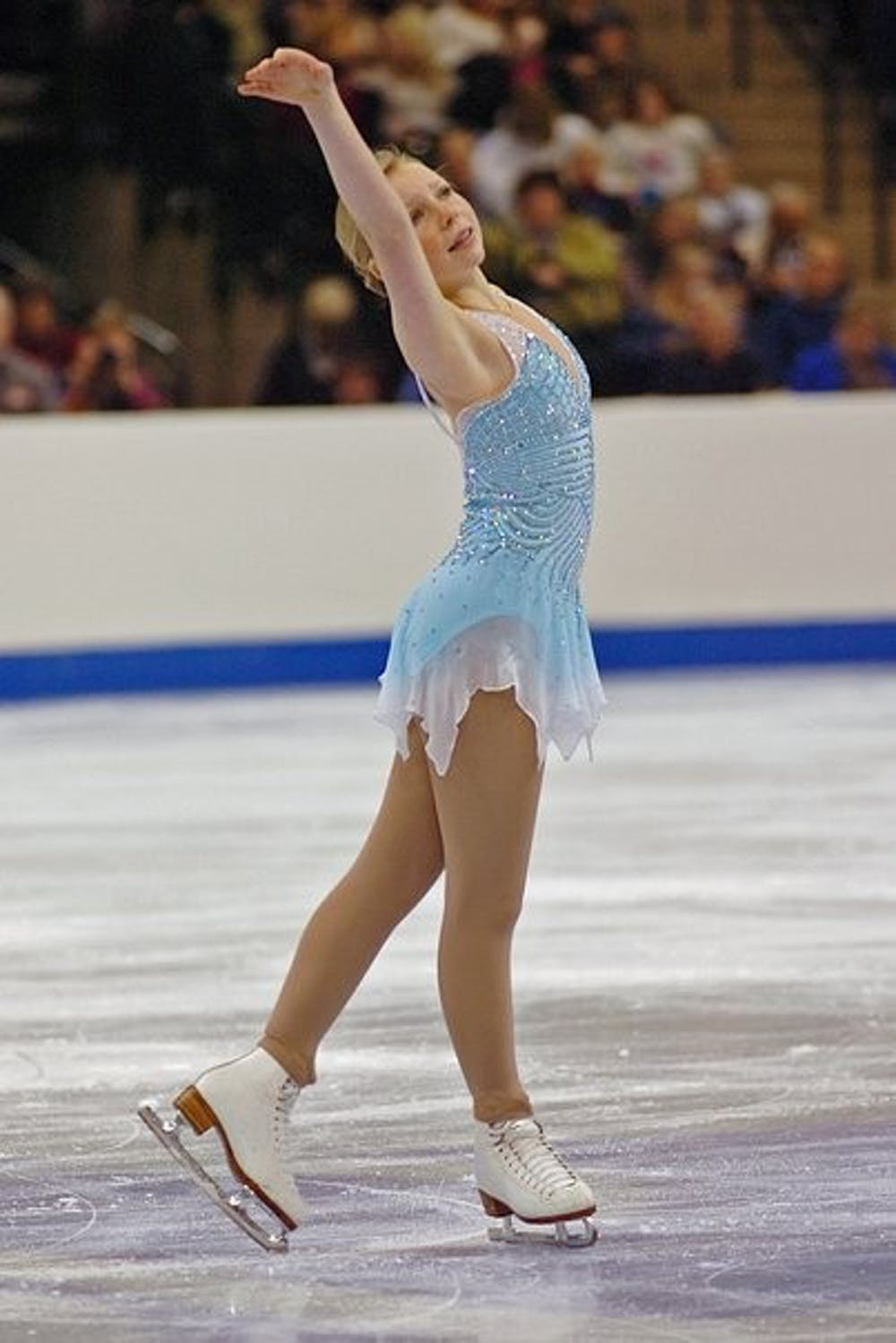 A former Olympic figure skater and UNC Ph.D. student is working to fight eating disorders