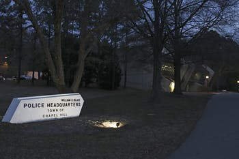 The university is leasing land to the Chapel Hill Police Department to build a new building.