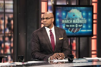 "The toughest part of broadcasting, Brendan Haywood said, is finding a ""happy medium"" between being analytical and being yourself. Photo courtesy of Turner Sports."