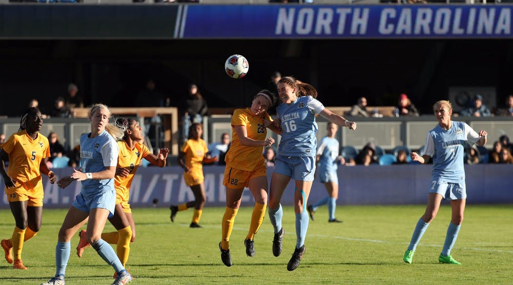 Luck runs out for UNC women's soccer in 1-0 loss to West Virginia