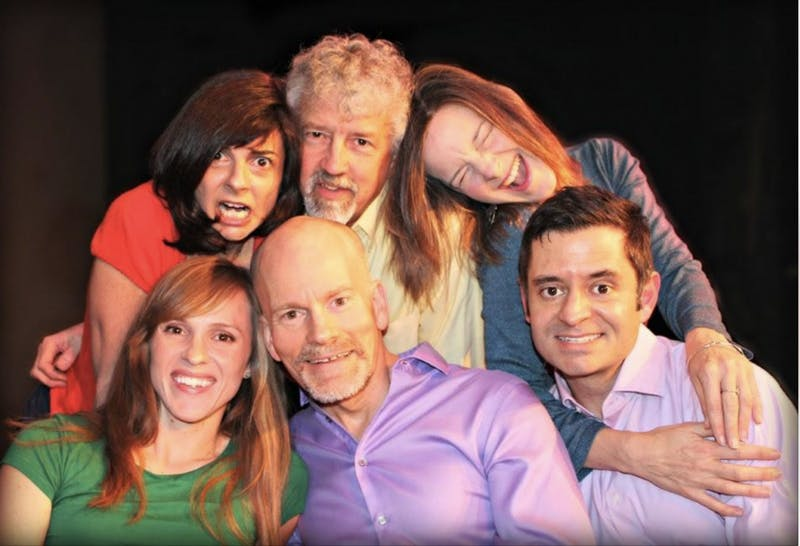 The Transactors, a Chapel Hill-based improv group, is putting on a love show to celebrate Valentine's Day. Photo courtesy of Greg Hohn.