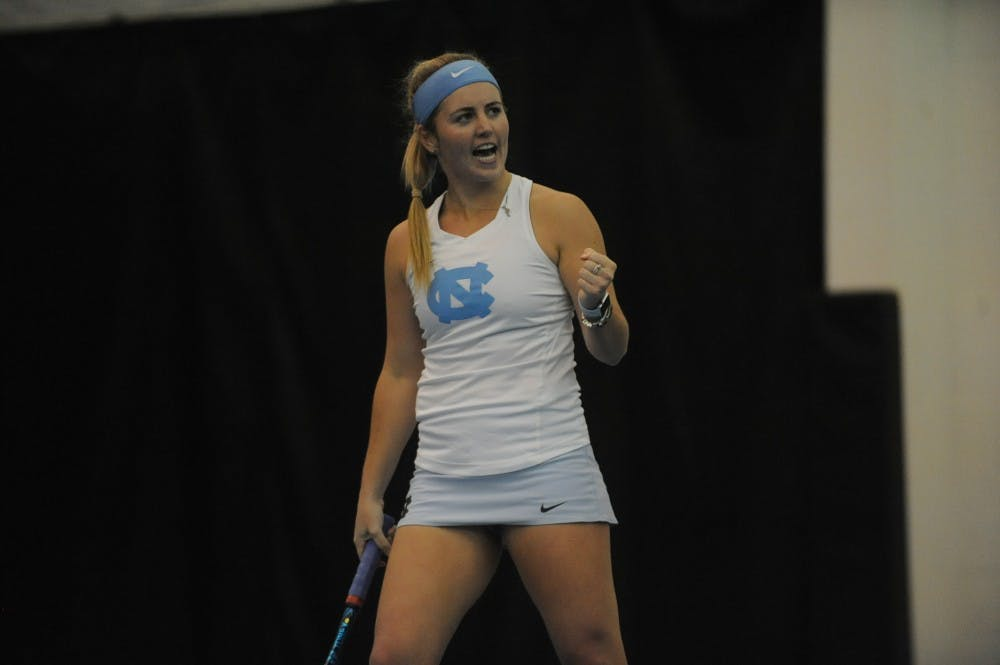 UNC women's tennis beats Virginia, remains perfect in ACC