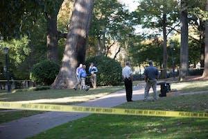 An explosion happened at the Davie Poplar tree, a historic UNC landmark, on Nov. 2.