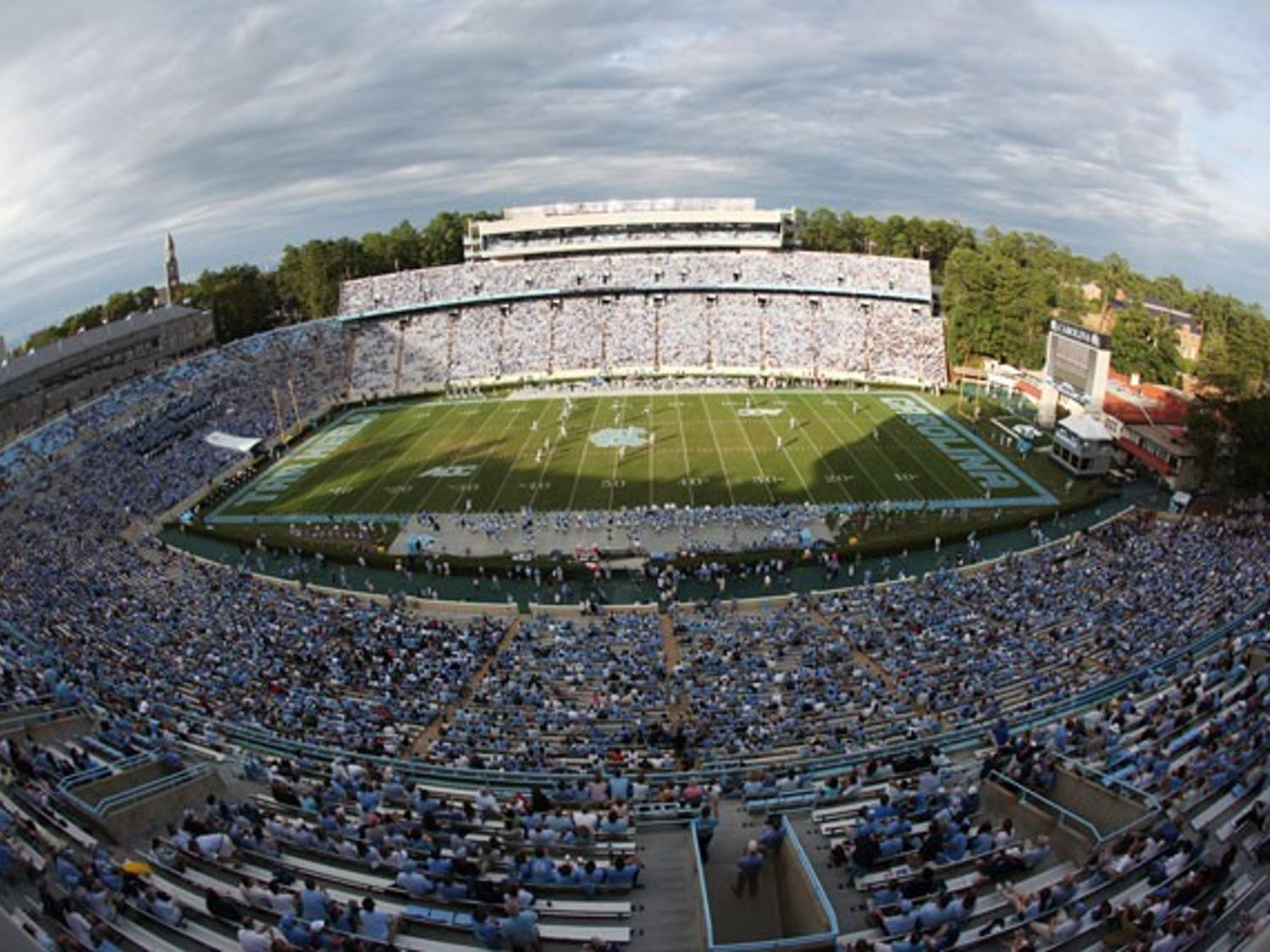 North Carolina takes on Florida State Thursday in the first Thursday night home football game in school history. DTH/Andrew Dye