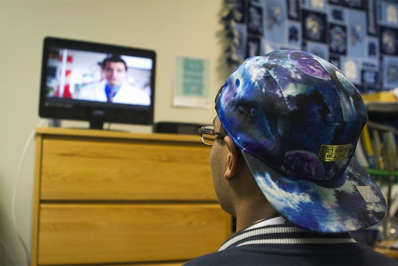 UNC's on-campus cable was upgraded to digital cable during winter break.