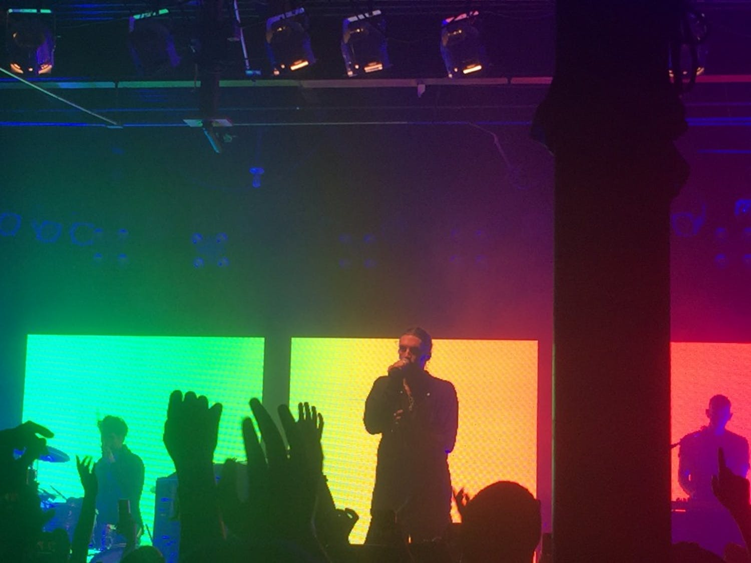 LANY performed at Cat's Cradle Oct. 7.