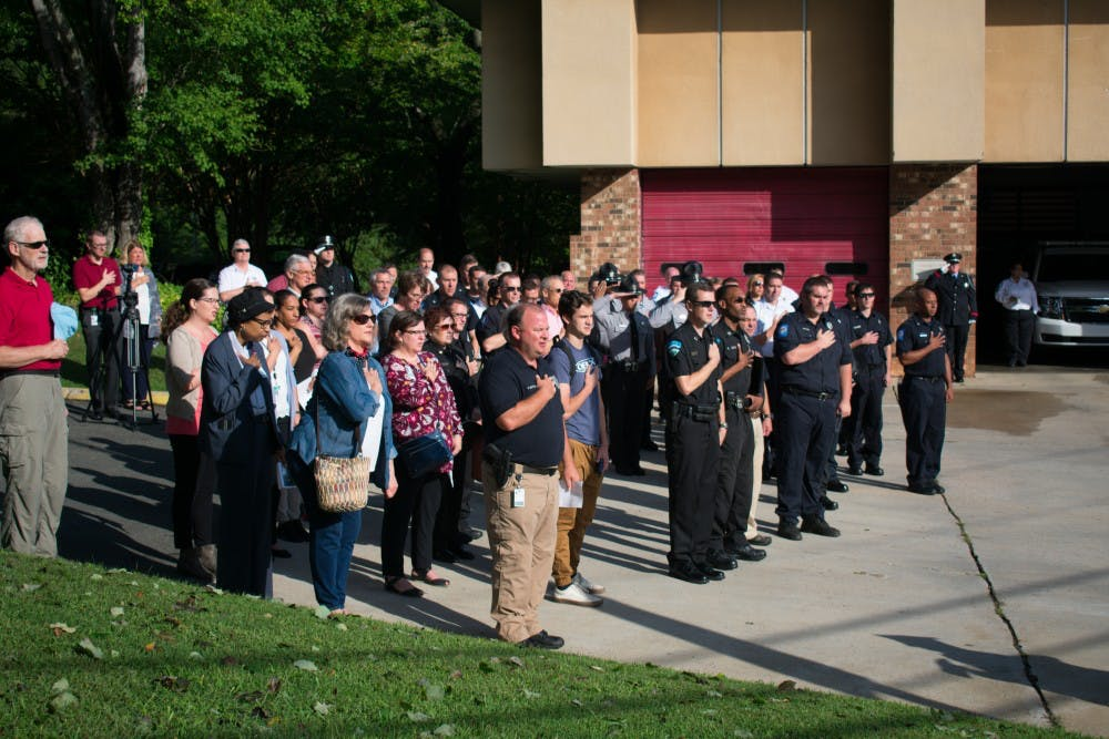 Town of Chapel Hill honors first responders, past and present, on Sept. 11