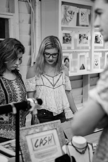 HARC holds pop up shows that feature artwork from UNC students.Photo courtesy of Anna Creissen.