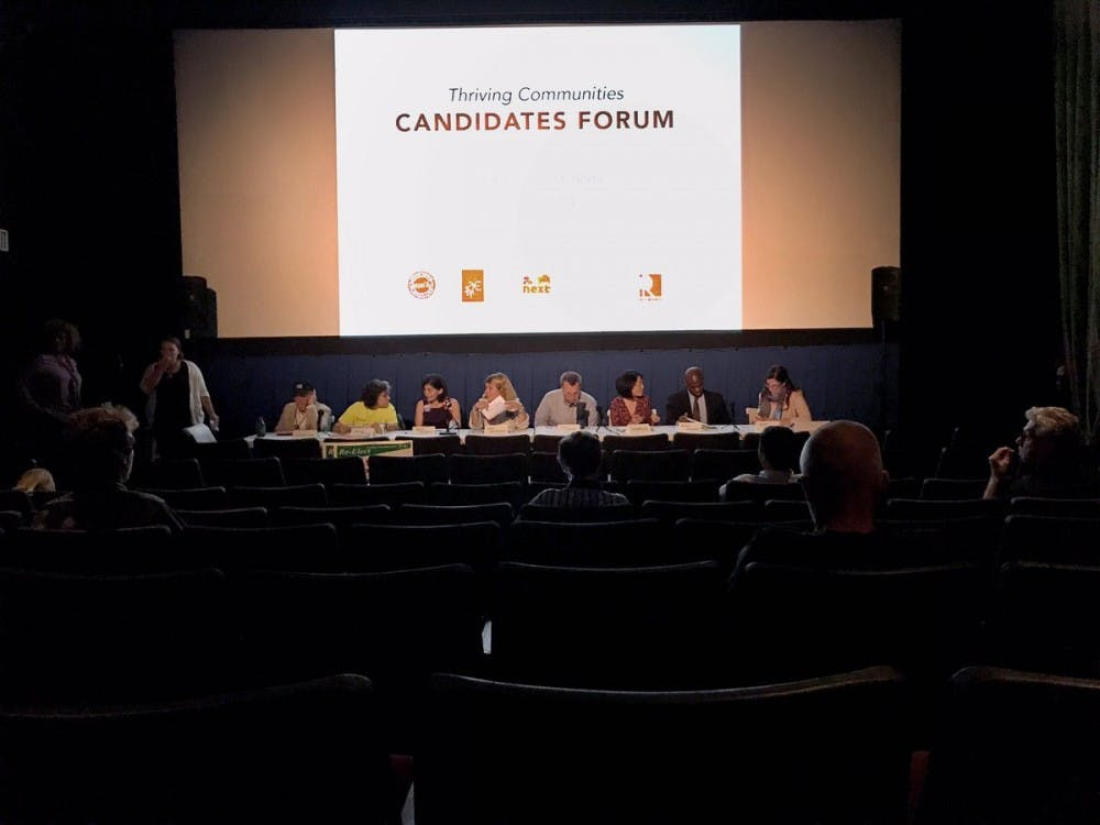 Town council candidates discuss goals during Thriving Communities Candidate Forum