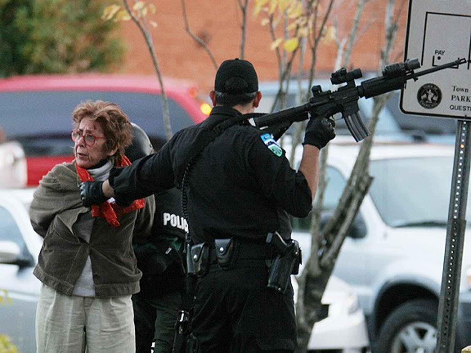 People involved with Occupy Chapel Hill were arrested and put on CHT buses.