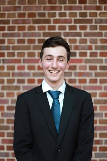 Headshot of Max Lewin, a Hinton James Community Governor in the 2019-2020 academic year. Photo courtesy of Max Lewin.