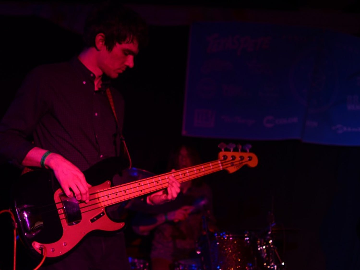 White Fence performs live at the 2014 Phuzz Phest in Winston-Salem.