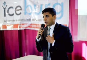 Sophomore Ritwik Pavan is CEO of Linker Logic Technologies based in Chapel Hill. Photo courtesy of Ritwik Pavan.