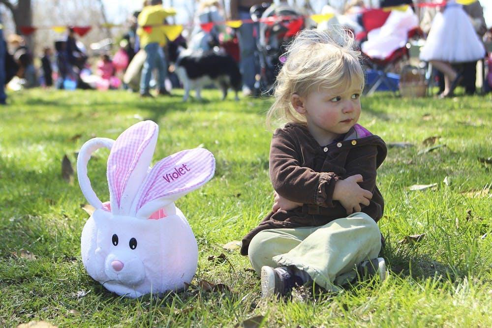 10,000 eggs not enough for Orange County's annual Easter egg hunt