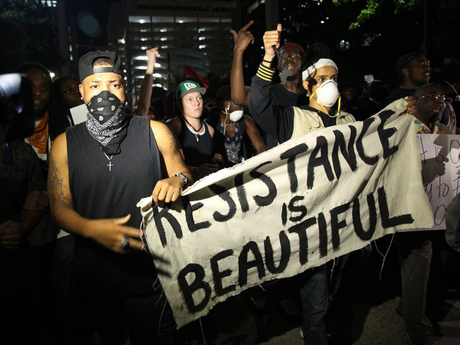 Protests continue in Charlotte in response to the fatal shooting of Keith Scott by a police officer.