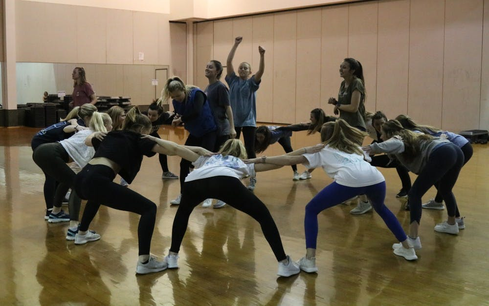 Greek life gets groovy to raise money for Center of Excellence for Eating Disorders