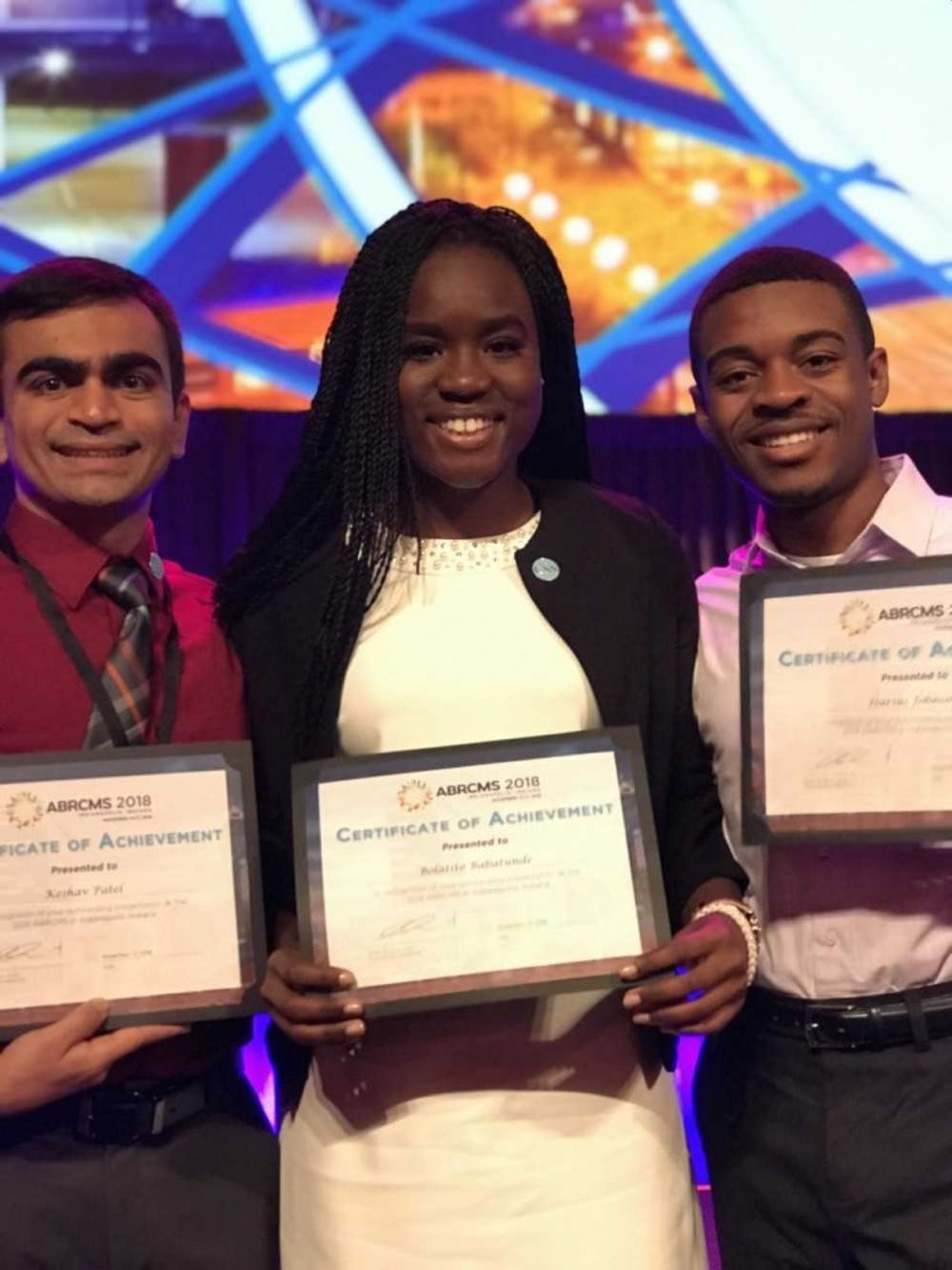 Chancellor's Science Scholars receive national awards for fifth consecutive year