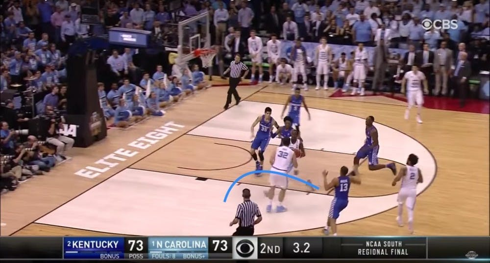 Film Review: Breaking down Luke Maye's historic buzzer beater