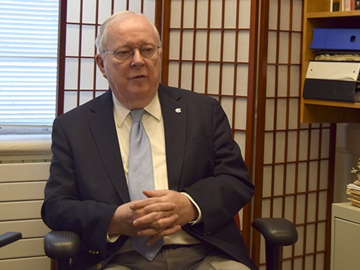 Joe Ferrell, the outgoing Secretary of the Faculty, reminices about his time at UNC.