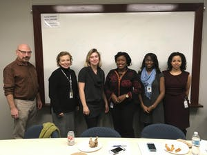 UNC Center for Women's Mood Disorders researchers. Photo courtesy of Teresa Edwards.