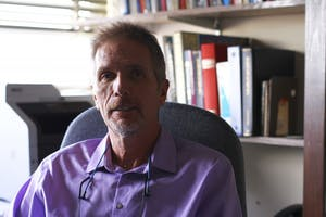 Professor JaySmith believes someone pressured the history department into dropping his course on the history of college athletics and the rights of student athletes.
