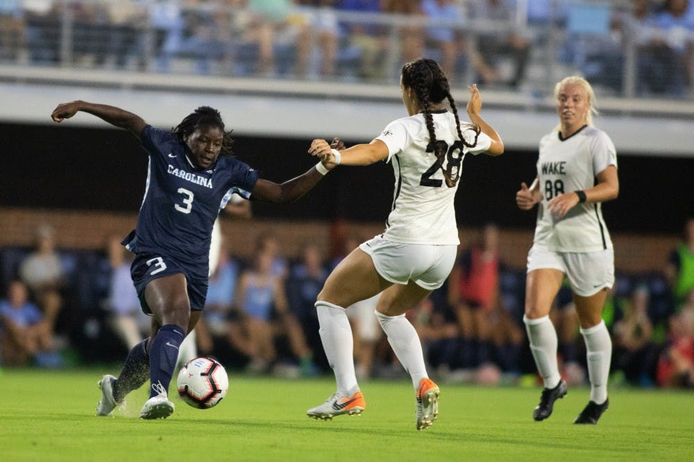 Mucherera and second unit inspire UNC women's soccer win over Wake Forest