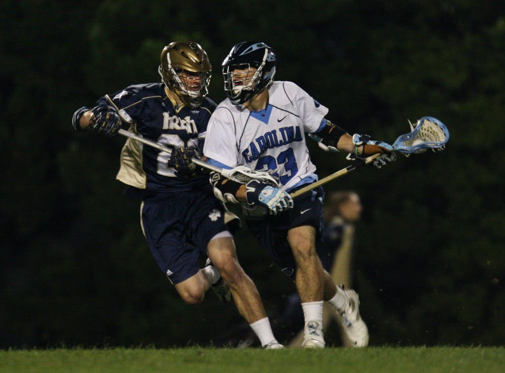 Men's lacrosse takes No. 8 NCAA tournament seed