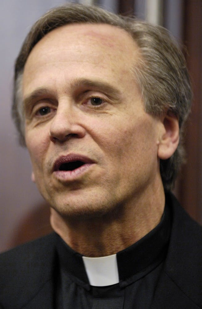 Notre Dame president criticizes NCAA, alludes to UNC academic scandal
