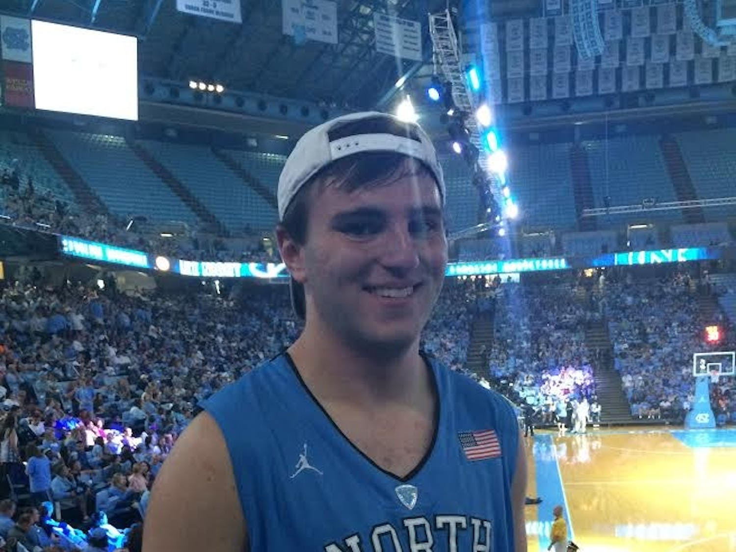 Ethan Rodgers at Late Night With Roy.